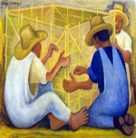 3_Men_Building_a_Huacal